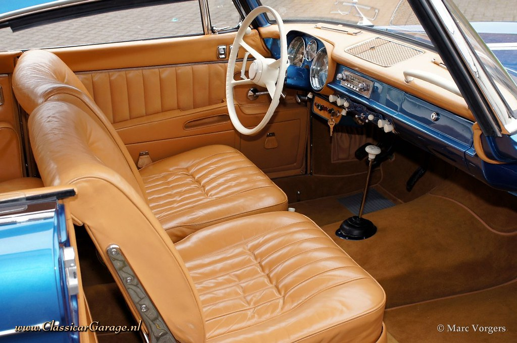 Wohnlandschaft Leder Cognac 1959 Bmw 503 Interior | 1959 Bmw 503 Cognac Leather