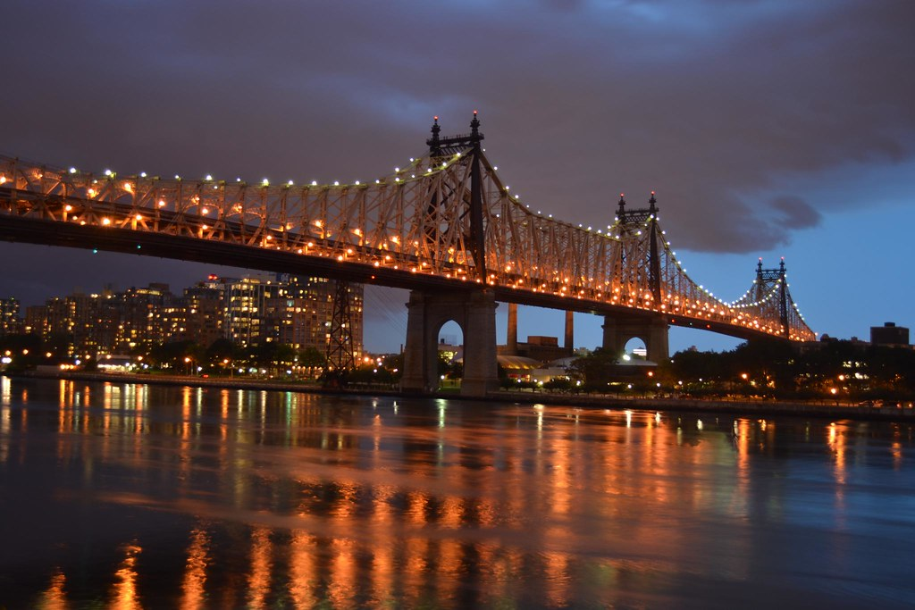 Cool 3d Wallpaper Black Queensboro Bridge At Night Matt Kane Flickr