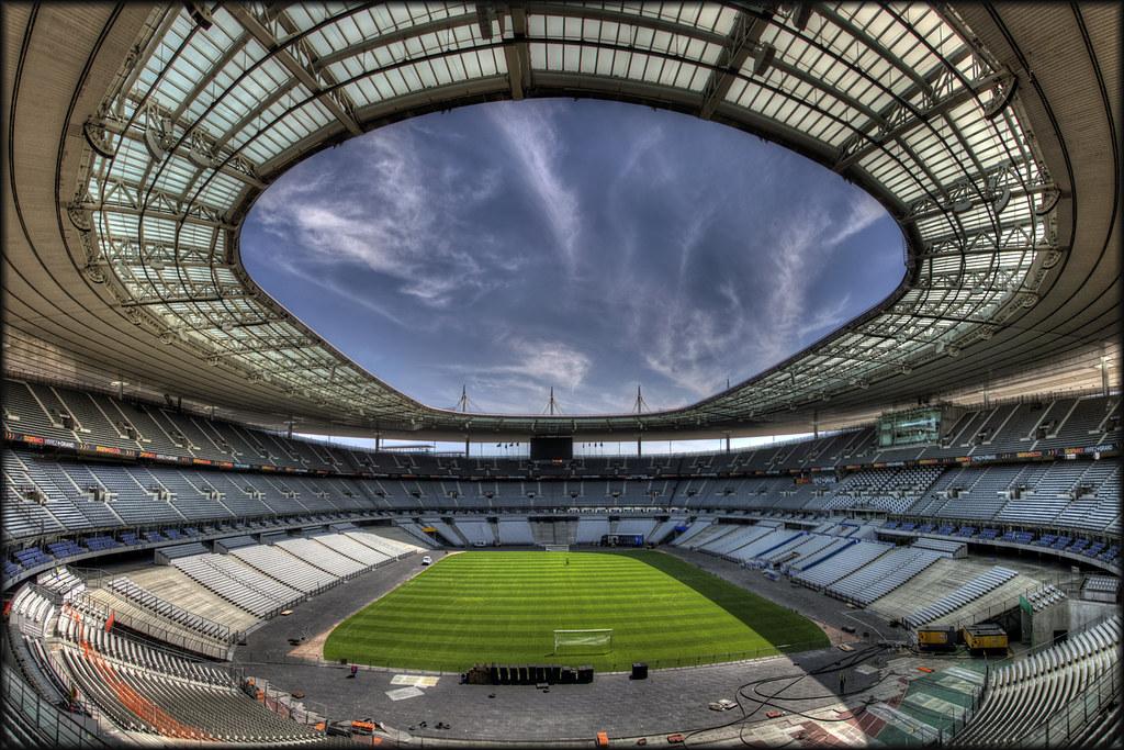 3d Football Stadium Wallpaper Stade De France Qualified Allez Les Bleus Pascal