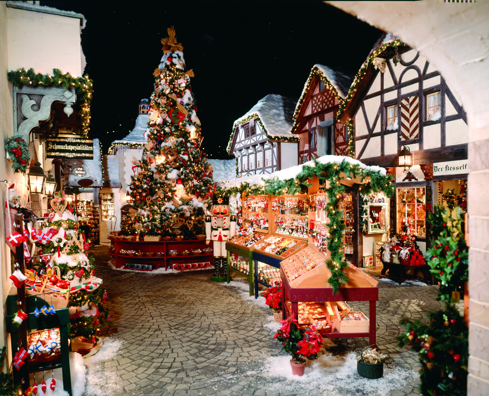 Wallpaper Phone 3d Bavarian Village Yankee Candle Village South Deerfield