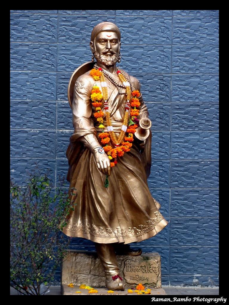 Shivaji Raje 3d Wallpaper Nashik Trip Statue Of Shivaji Maharaj Outside Triambakes