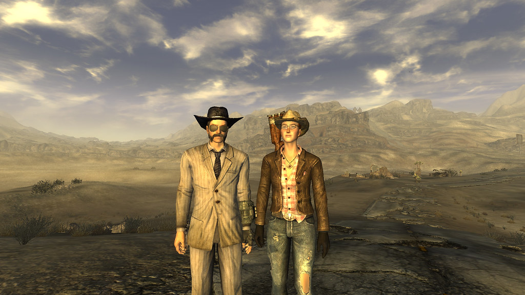 Memes Wallpaper 3d Fallout New Vegas Pc Rpg Game Courier Amp Cass In Mojave