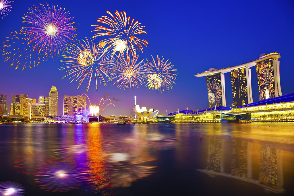 Happy New Year D Singapore 2016 New Year Countdown Firework