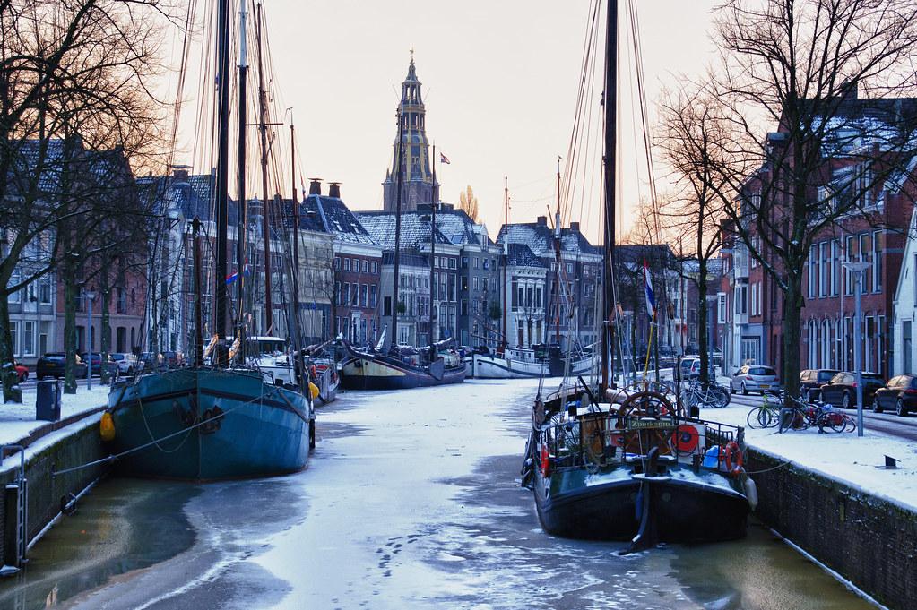 Free 3d Christmas Desktop Wallpaper An Early Winter Morning In Groningen Explore Groningen