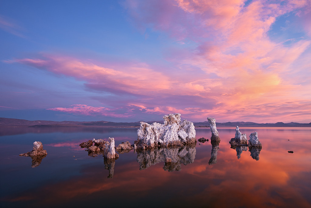 3d Wallpaper Clouds Mono Lake Sunrise Learn More At Www Apertureacademy Com