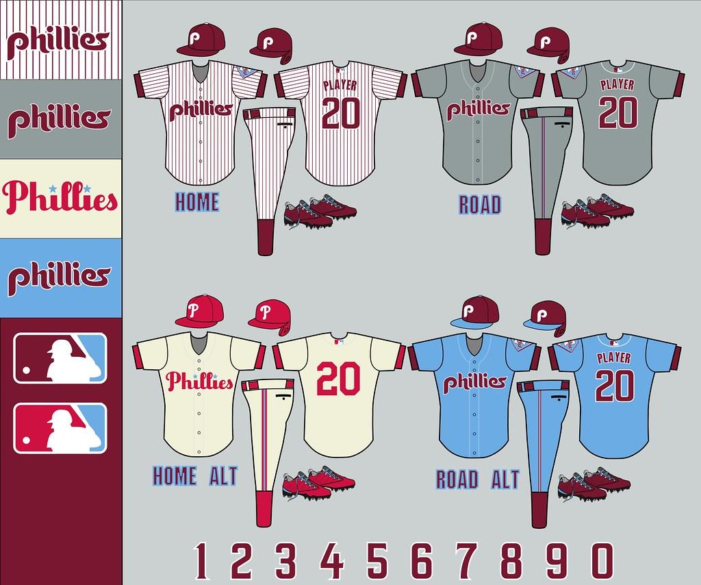 Foto Wallpaper 3d Philadelphia Phillies Uniforms Pmell2293 Flickr