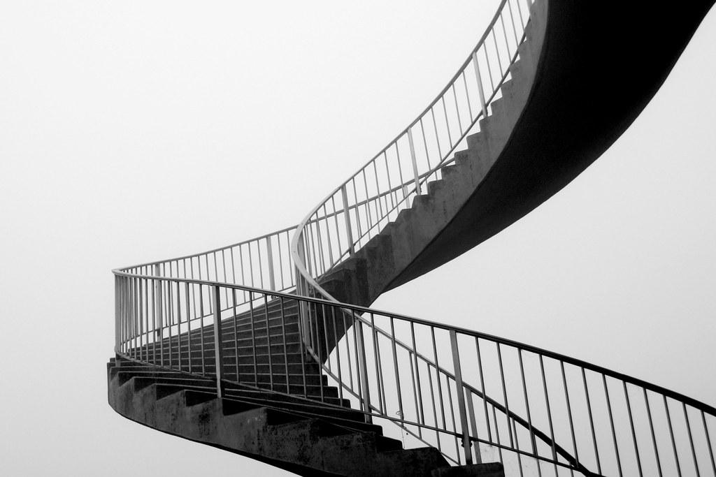 Black White Modern Wallpaper Stairways To Cc Stopmotion Cc Fotos Von Marfis75