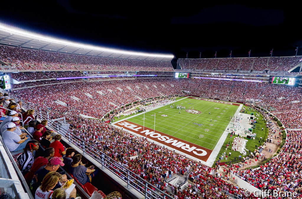 Nn 3d Wallpaper Late Night Nachos At Bryant Denny Stadium The Tide Overw