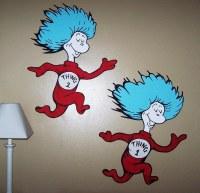 Dr Seuss Dr. Suess Theme Wallpaper Wall paper Art Sticker ...
