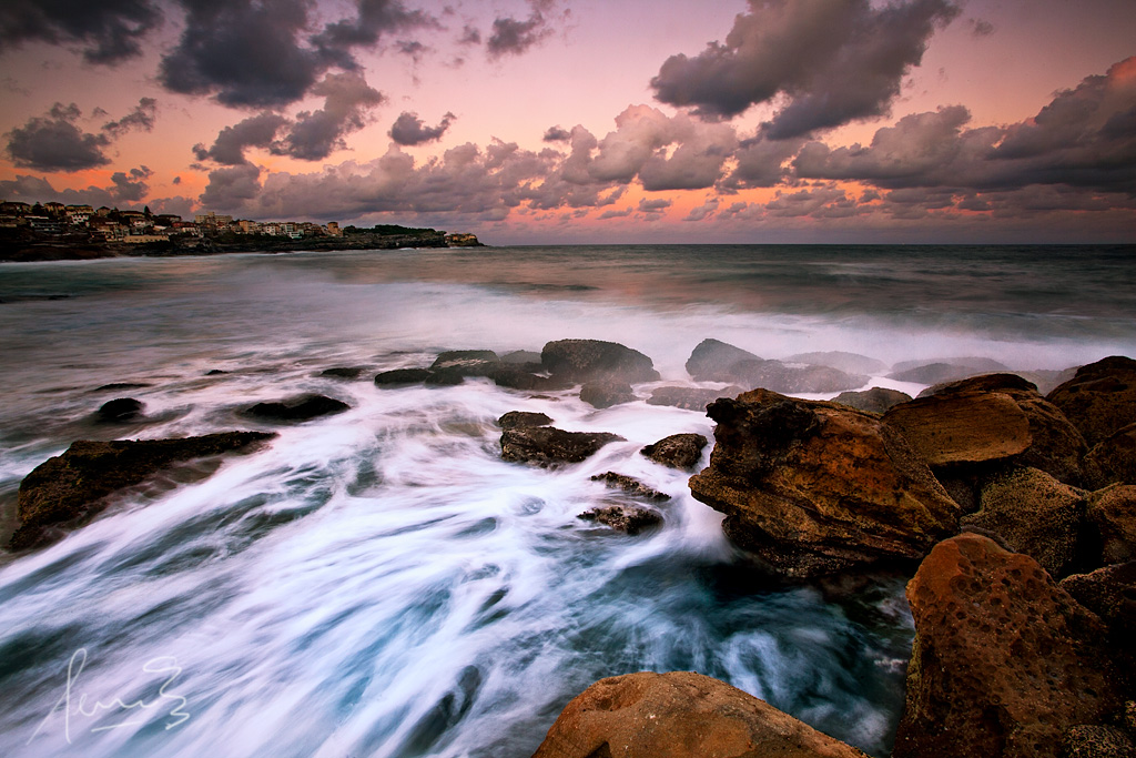 Wallpaper Sunset 3d Bronte Beach Sunset For A Change I Ventured Out To The