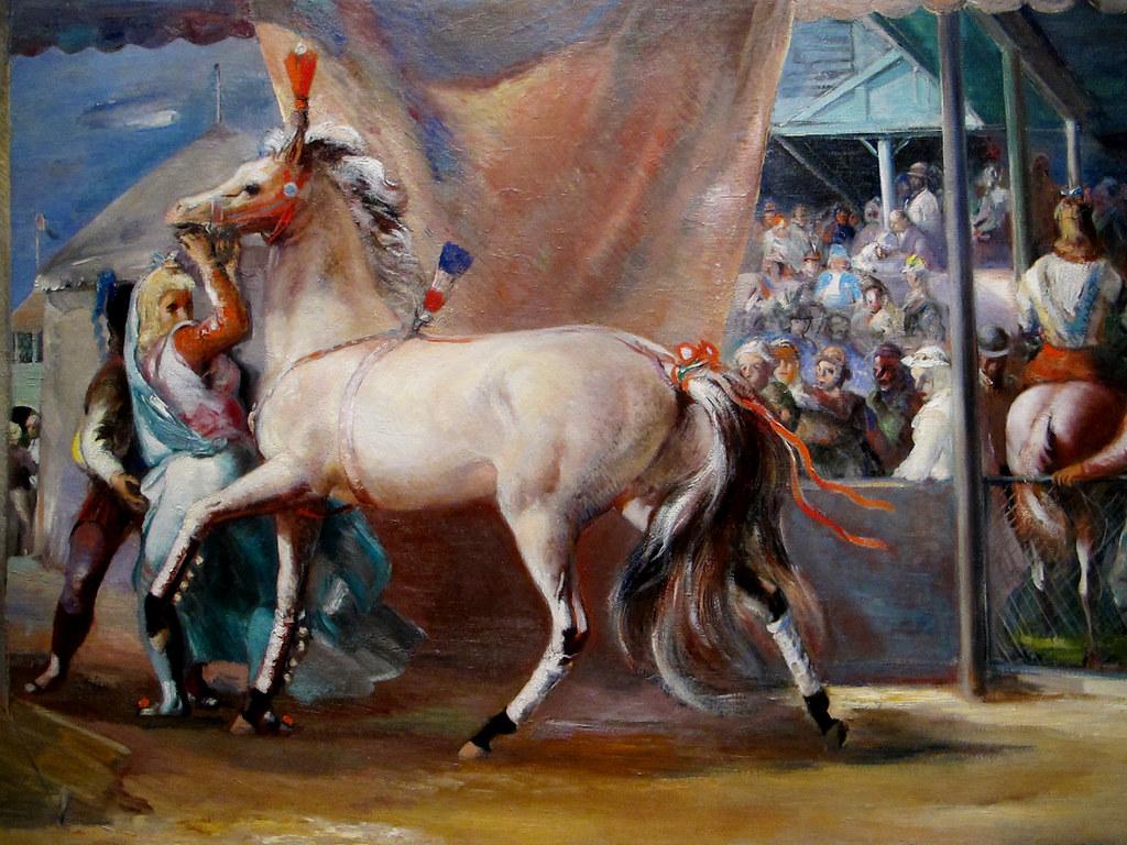 Wallpaper Horse 3d The White Circus Horse 1937 Jon Corbino The White