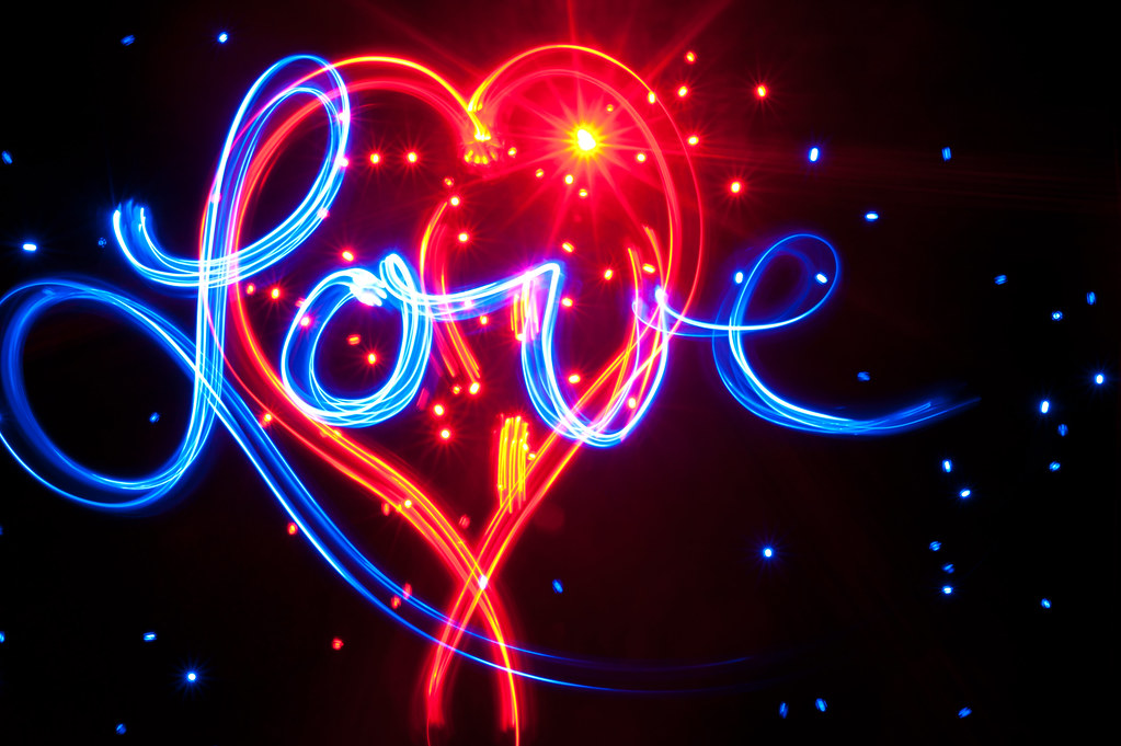 Wallpaper Of Love Quotes In English Love In Light Fellow Light Painting Photographer Brian