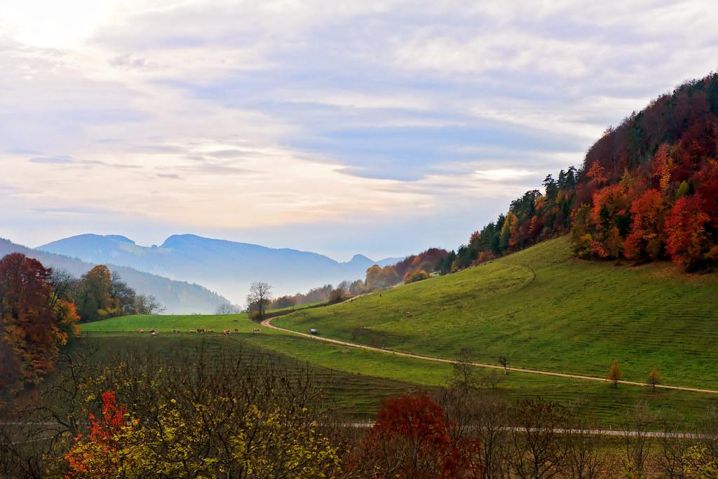 Anime World Wallpaper Pretty Landscape A Pretty Landscape Taken From The Car