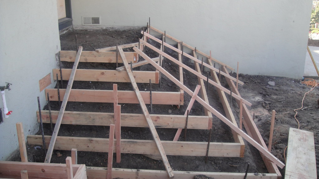Forming Concrete Stairs Oakland All Access Construction