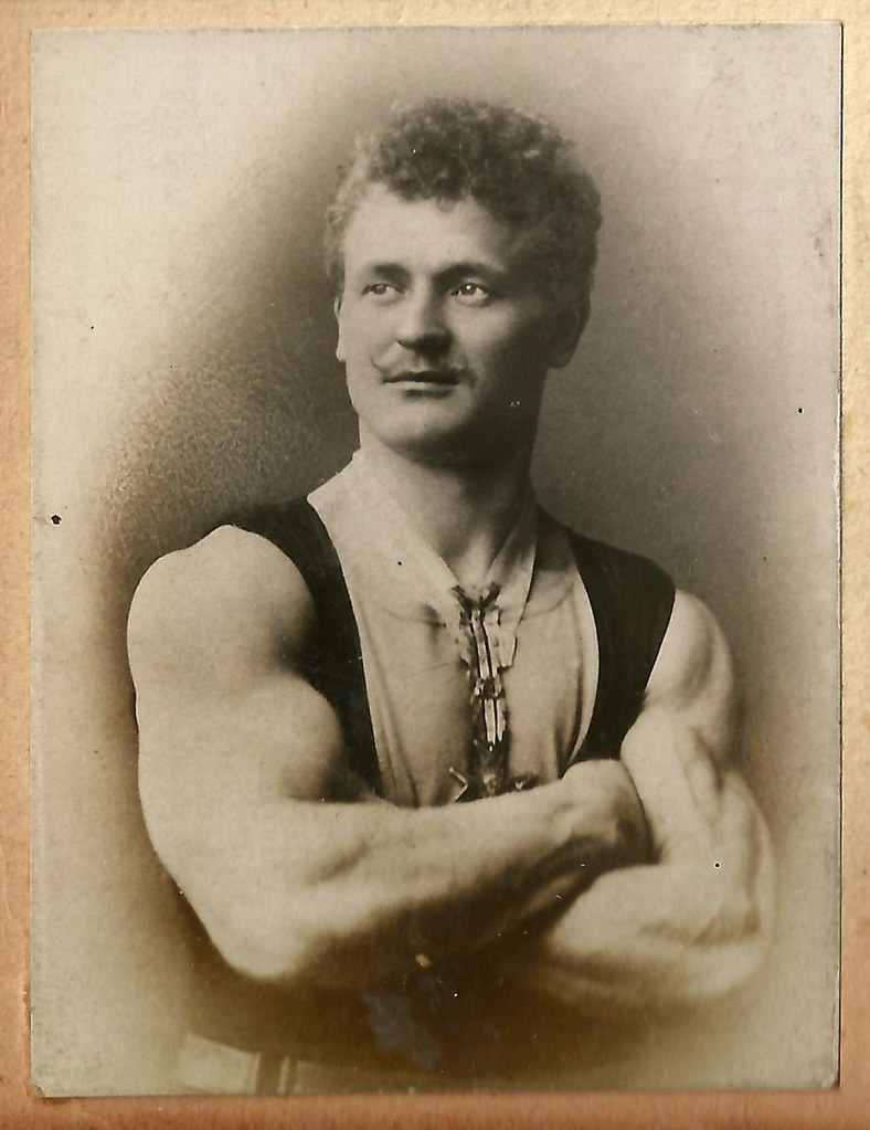3d Max Wallpaper Identified Eugen Sandow Pioneer Bodybuilder An