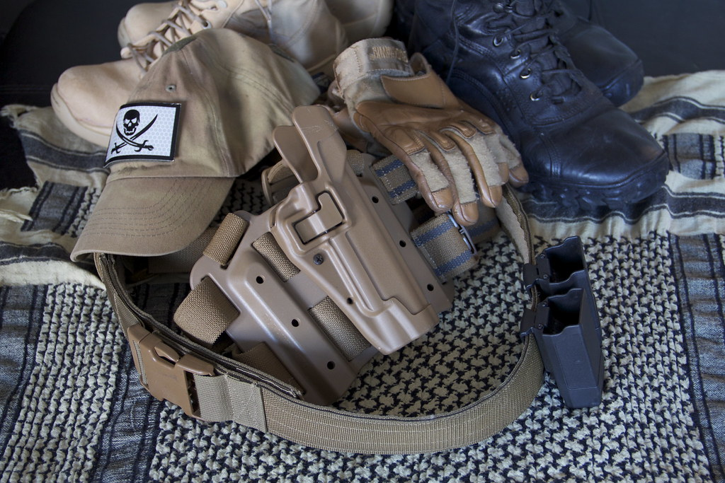 Img 1663 Blackhawk Serpa Level 2 Drop Leg Blackhawk Belt