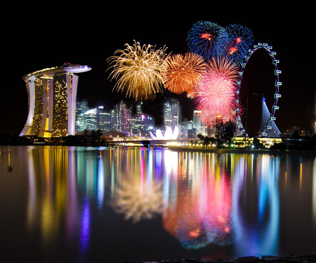3d Garden Wallpaper Free Singapore 2012 Countdown Firework A Shooting Outing With