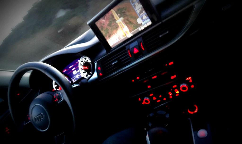 Car Lights Night Wallpaper 2012 Audi A6 Interior Lighting Maria Palma Flickr