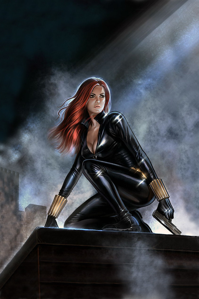 Lock Screen Wallpaper Iphone X Black Widow 169 Aly Fell Via Keaneoncomics Tumblr Com