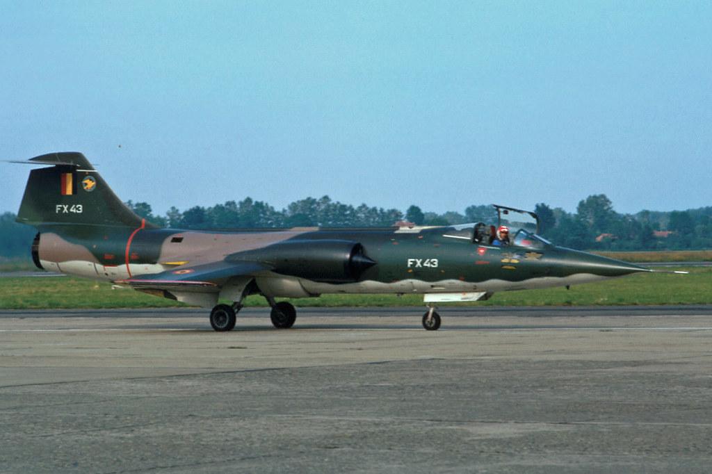 As 3d Wallpaper Lockheed F 104g Starfighter Baf Lockheed F 104g Belgian