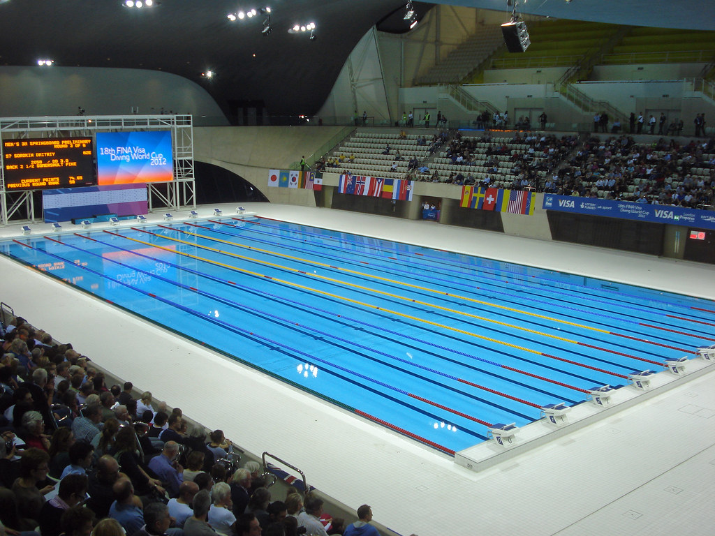 Diamond Wallpaper Hd Olympic Pool After The Olympics This Will Be Newham S