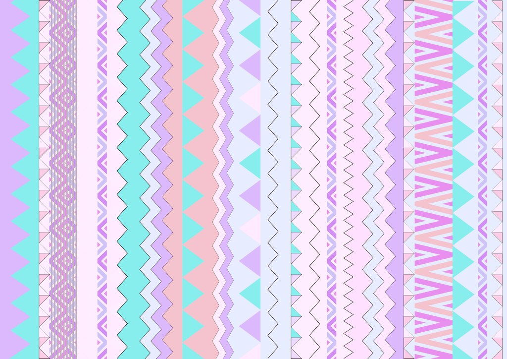 Wallpaper 3d Facebook Happy Native Pastel Pattern You Can Follow My Work On