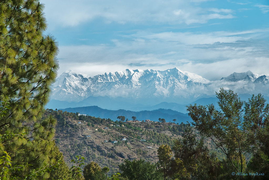 India Wallpaper 3d Hd Almora View View Of The Nanda Devi Range Of The