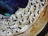 Asbestos Aircell Pipe Insulation Close-up | Asbestorama ...