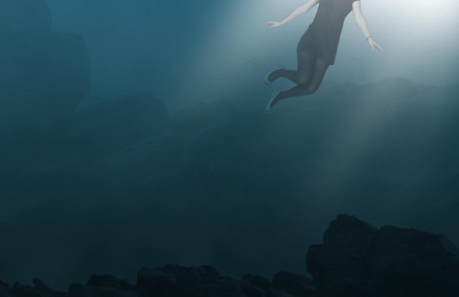 3d Wallpaper Under The Sea Thalassophobia 2 Fear Of The Ocean Open Waters Katie
