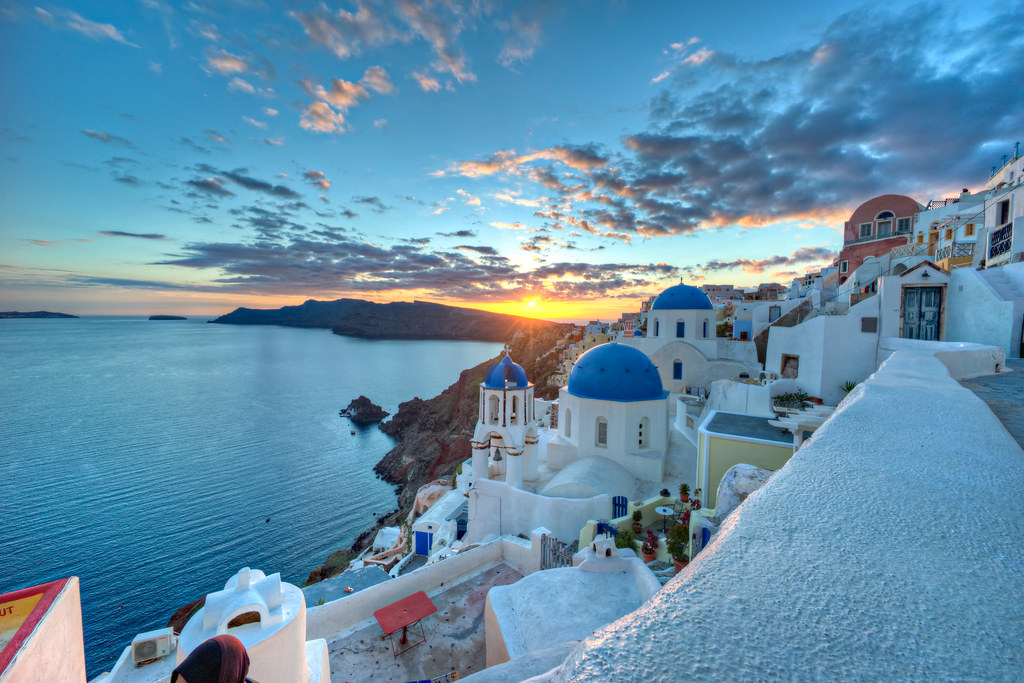 Beautiful 3d Wallpaper For Mobile Postcard From Santorini One Of The Most Photographed