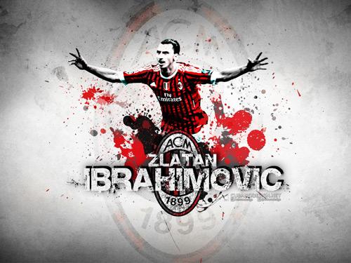 Camera Wallpaper Hd Wallpaper Zlatan Ibrahimovic Ac Milan Zlatan