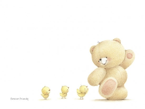 Free Wallpapers Of Cute Teddy Bears Forever Friends Wallpaper Cute Bear Easter Forever Fri