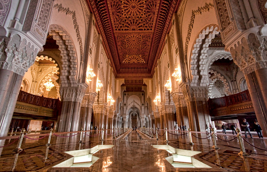 3d Masjid Wallpapers Inside Hassan Ii Mosque This Is The Only Mosque In
