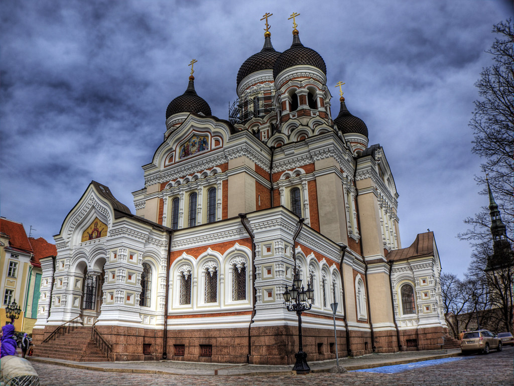 White 3d Wallpaper Hd Aleksander Nevsky Cathedral Tallinn Estonia This Is
