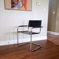 BAUHAUS STYLE CHAIR Vintage Mid Century Modern Furniture C ...