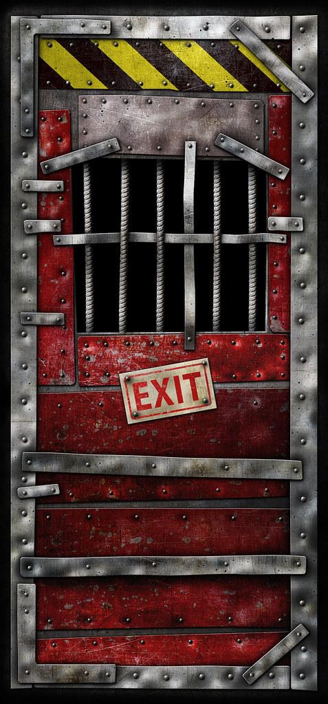 N 3d Wallpaper Left 4 Dead Safe Room Door Highres Safe Room Door 96 X