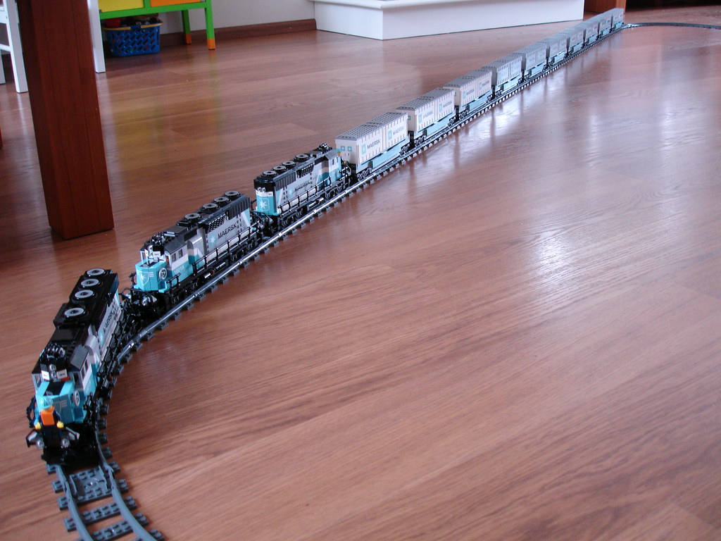 New Car Wallpaper Lego 10219 Maersk Train Sjaak Lego Flickr