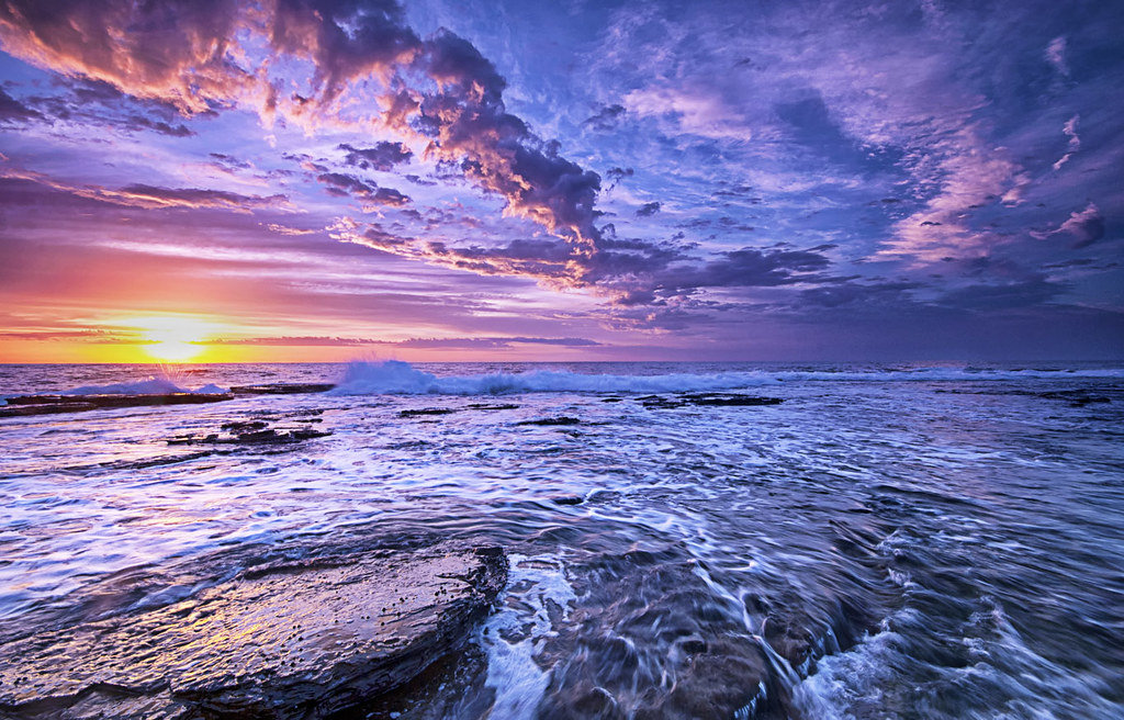 Some 3d Wallpapers Narrabeen Sunrise 07 04 2012 A Beautiful Sunrise At