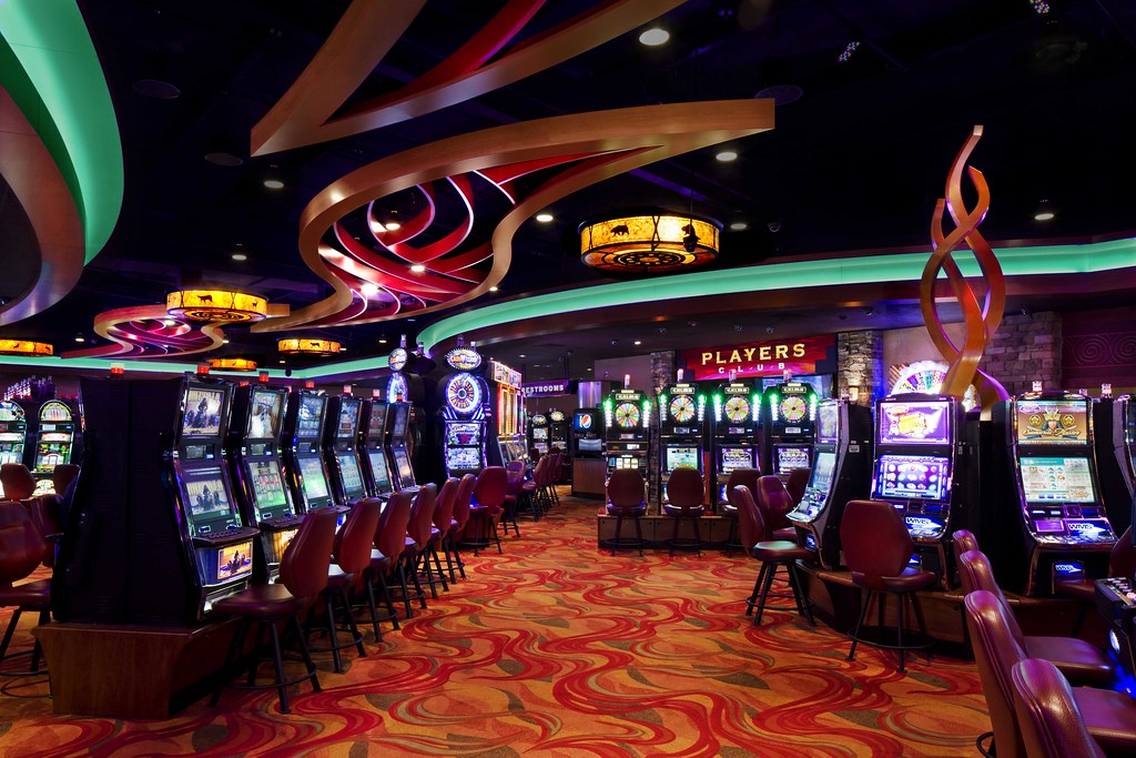 Custom Wallpaper 3d Interior Casino Design Illuminated D 233 Cor Design Gaming