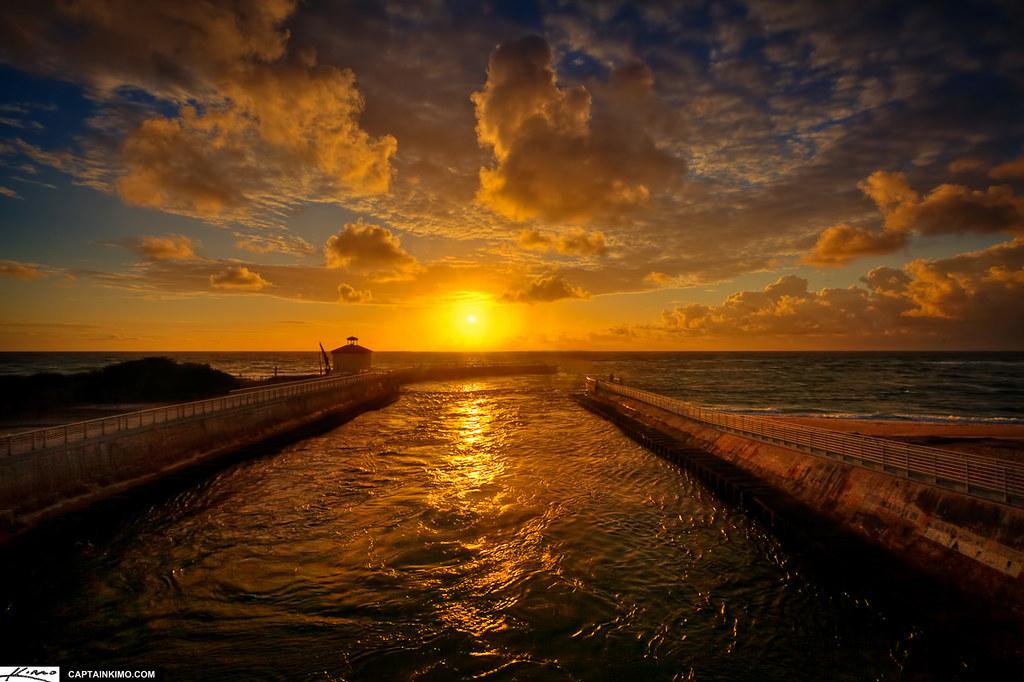 Amazing Wallpapers 3d Boynton Beach Ocean Inlet Sunrise Palm Beach County Florid