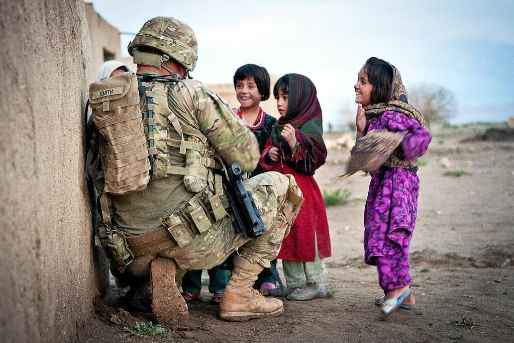 Cute Indian Girl Child Wallpaper Afghan Children U S Army Sgt Joshua Smith 82nd