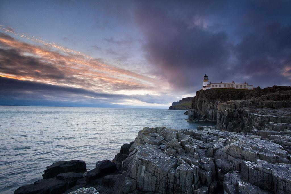 3d Wallpaper Hd 1920x1080 Free Neist Point Lighthouse Isle Of Skye Neist Point