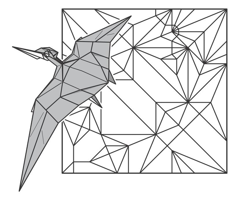 origami scorpion diagram