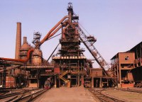 Blast furnace China (Handan) | One of the last steelplants ...