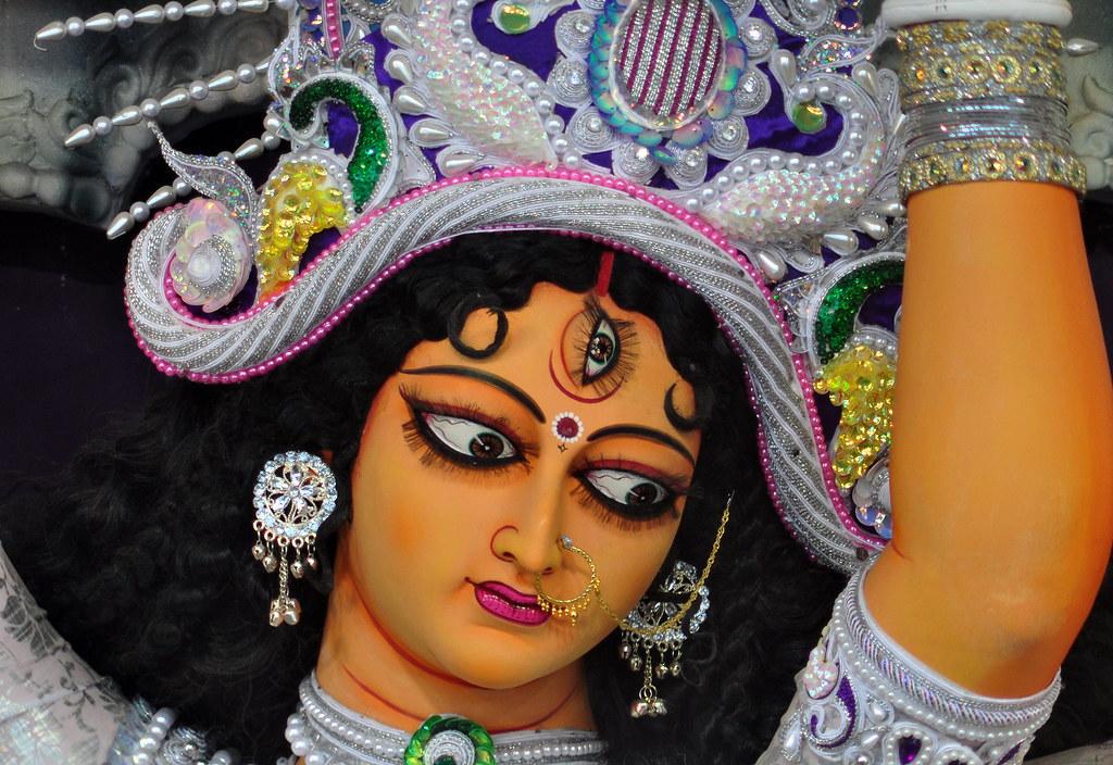 Krishna 3d Wallpaper For Mobile The Goddess Durga At Kumartuli Park North Calcutta
