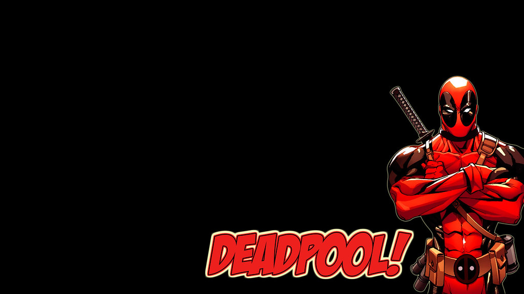 3d Wallpapers Hd Full Hd 1080p 1920x1080 Deadpool Wallpaper Just A Simple Wallpaper I Did As A