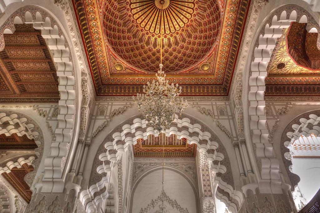 3d Roof Wallpaper Hassan Ii Mosque Interior Camera Canon Eos 6d Lens
