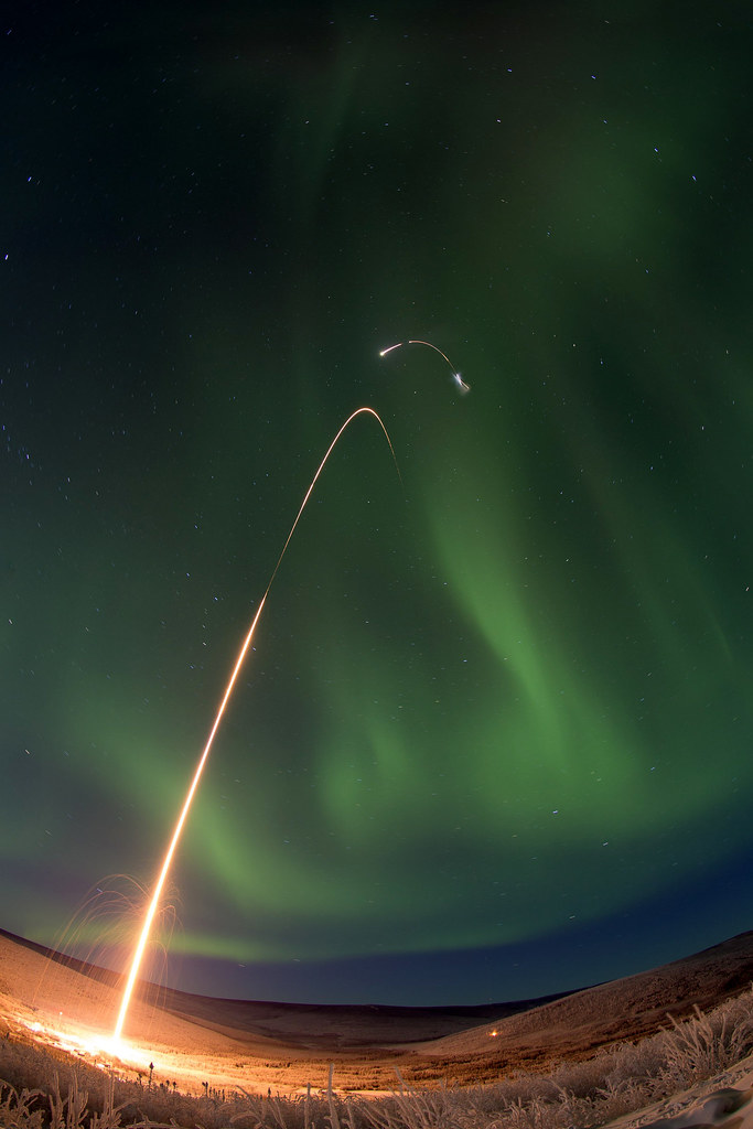 Success Wallpaper Hd Sounding Rocket Launches Successfully From Alaska