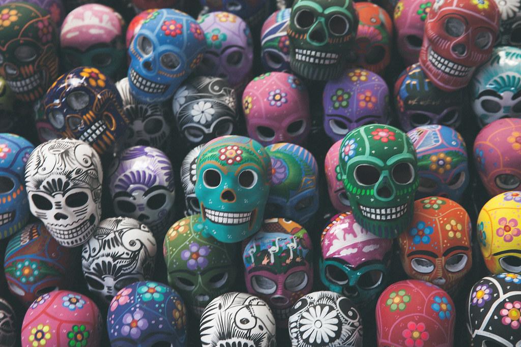 Wallpaper Skull 3d Skull Art Mexico Oaxaca Www Chrisford Com Places