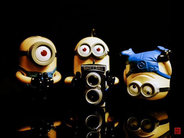 Wallpaper Mobile Hd Cute Rock Amp Roll Minions Cute Minions By Daniel Y Go